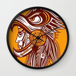 Cuauhtli Wall Clock