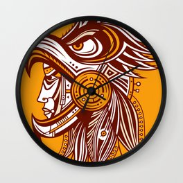 Cuauhtli Wall Clock