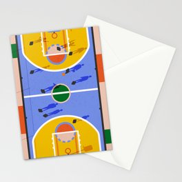 Hoops Stationery Cards