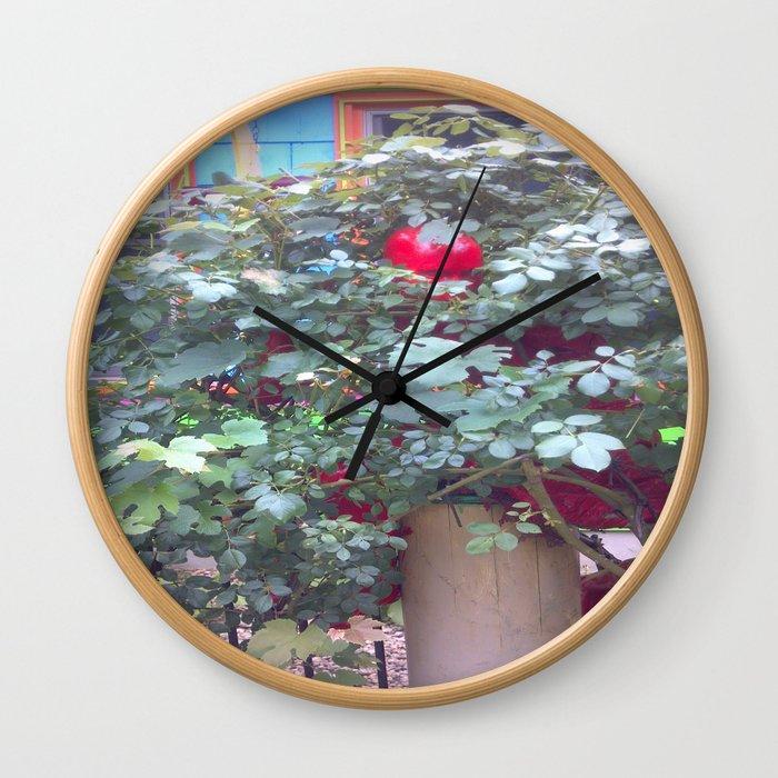 The Hidden One Wall Clock