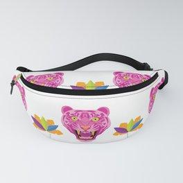 hot pink tiger pattern Fanny Pack
