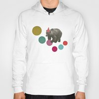 birthday Hoodies featuring Birthday Bear by Cassia Beck