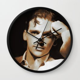 Hollywood Legends, Douglas Fairbanks, Jr. Wall Clock
