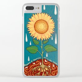 All the flowers of tomorrow Clear iPhone Case