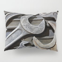 Group of old wrenches Pillow Sham