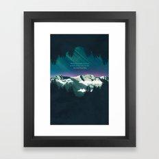 Heaven Sent Framed Art Print