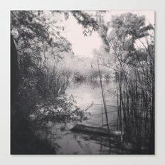We Happened Upon A Lake Canvas Print