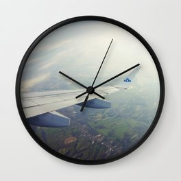 High above me Wall Clock