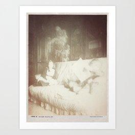 Shun The Light Art Print