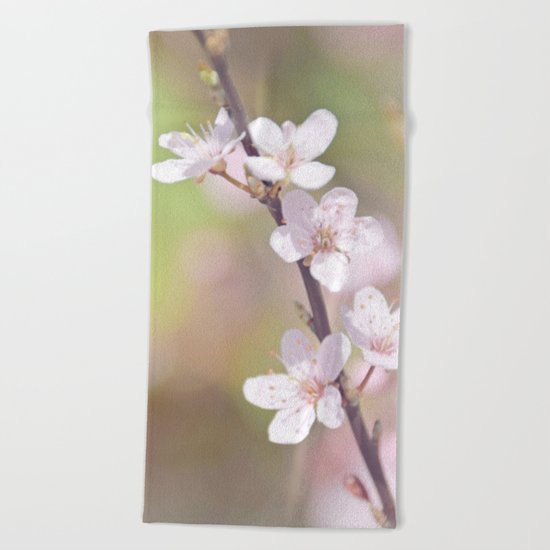 Fairytale Cherry Blossom Beach Towel