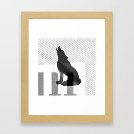 Call of The Wild Framed Art Print