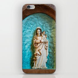 Madonna and Child iPhone Skin