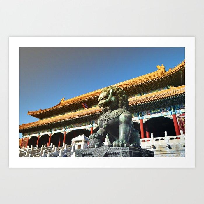 Tiān'ānmén Wǔ Art Print
