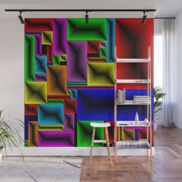 ColorBlox - Hammered Wall Mural