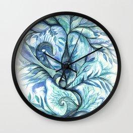 Tree of Life (blues) Wall Clock