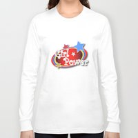 girl power Long Sleeve T-shirts featuring Girl Power by Vannina