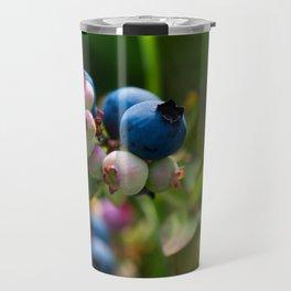 Wild Blueberries Travel Mug