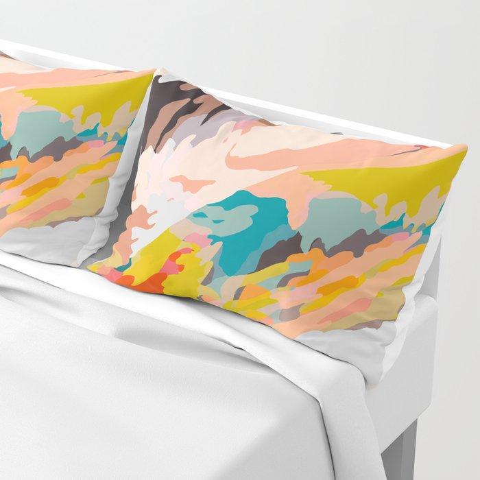 glass mountains Pillow Sham