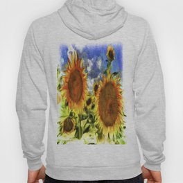 Sunflowers Vincent Van Goth Hoody