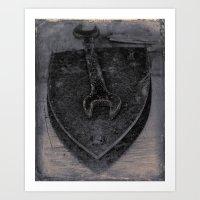 key Art Prints featuring Key by Jean-François Dupuis