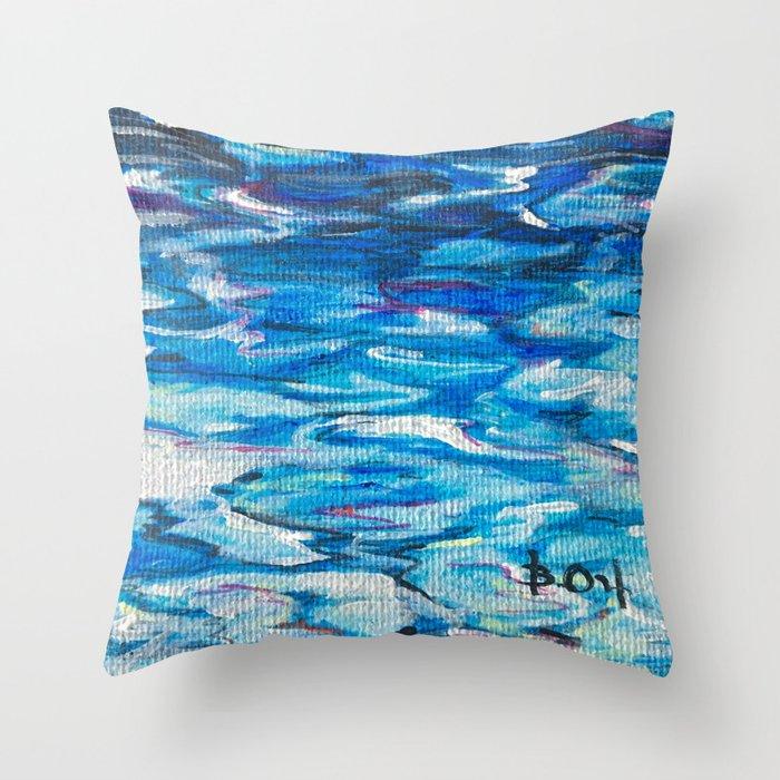 Islote de San Juan Throw Pillow