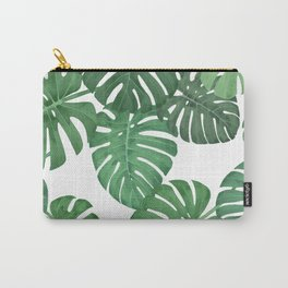 MONSTERA JUNGLE, by Frank-Joseph Carry-All Pouch