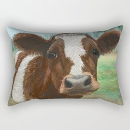How Now Brown Cow Rectangular Pillow