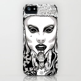 Die Antwood Inspired Illustration iPhone Case