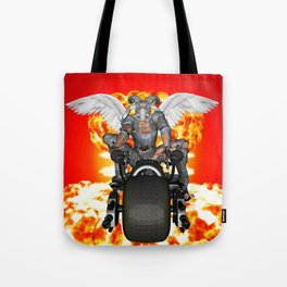 Biker of the Apocalypse-Conquest Tote Bag