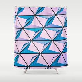 Pattern blue purple Shower Curtain
