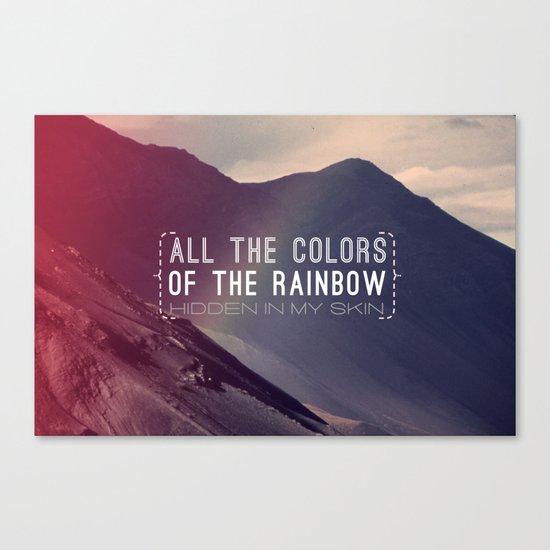 Rainbow Canvas Print