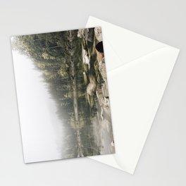 Pale lake - landscape photography Stationery Cards