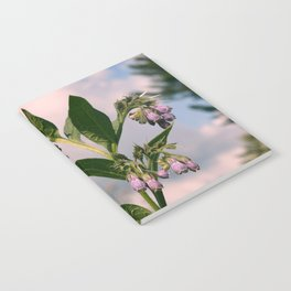 Healing Comfrey Plant with Flowers Notebook