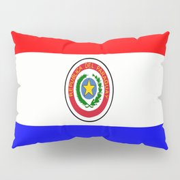 Flag of Paraguay Pillow Sham