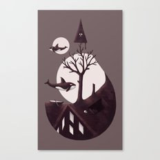 Darkly Dreaming Canvas Print