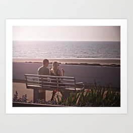 Love is enjoying summer Art Print