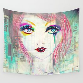 Colorful Gossip Wall Tapestry
