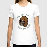 platypus T-shirts featuring The platypus problem by Simplasticity