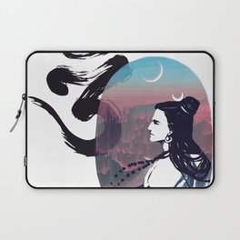Moon Rising Ohm Laptop Sleeve