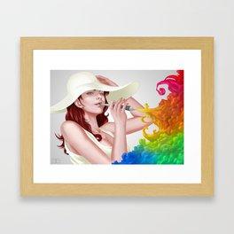 Colorfull inspiration Framed Art Print