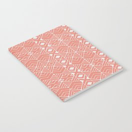 Aztec Coral Notebook