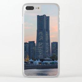 YOKOHAMA 01 Clear iPhone Case