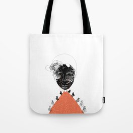 Moonrise mountain (mother earth cries) Tote Bag