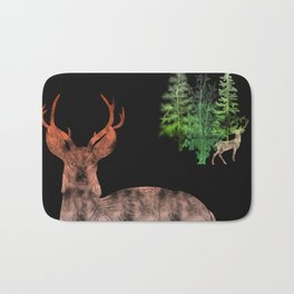 Woodland Deer Bath Mat