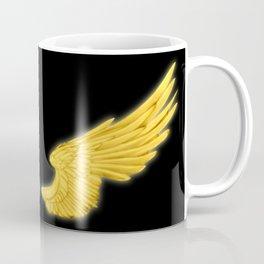 Golden Angel Wings Coffee Mug