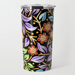 Filigree Flora Travel Mug