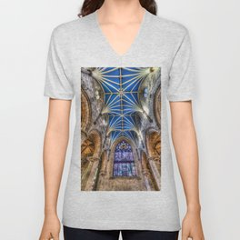 St Giles Cathedral Edinburgh Scotland Unisex V-Neck