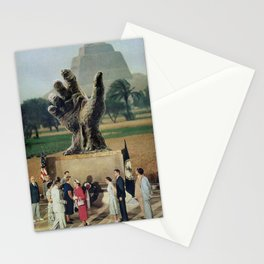 Illuminati Inauguration  - Vintage Collage Stationery Cards