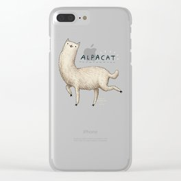 Alpacat Clear iPhone Case