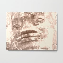 Stone Gaze Metal Print